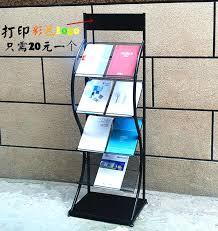 Single Magazine Display Stand Stunning Magazine Rack For Office Magazine Rack For Office In India