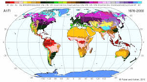 World Climate Zone Chart World Maps Of Köppen Geiger Climate Classification
