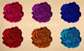 flower shaped rugs by aronoele