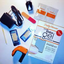 Sally Hansen Uv Light Wattage Gel Nails Tutorial Sally Hansen Insta Gel Strips The