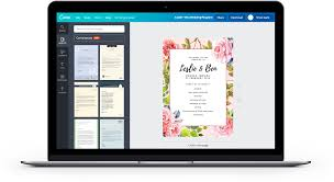 Online Wedding Invitation Card Maker Free By Canva