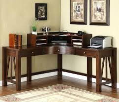 corner office computer desk. Modren Corner Office Corner Desks Riverside Desk With Optional Hutch Make Use Of  Every Inch Your   For Corner Office Computer Desk L