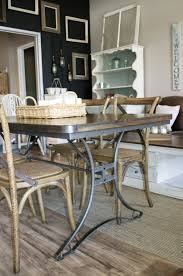 Industrial Style Kitchen Table Industrial Style Kitchen Dining Set The Workshop