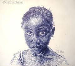 20 realistic ballpoint pen drawings from african artist enam bosokah pen drawingsballpoint pen drawingblack