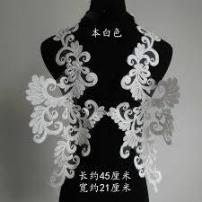 1Pair 25X12.5cm White Red Black Gold <b>Delicate Wedding</b> Veil ...