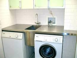 sink hookup washer and dryer. Sink Washer And Dryer Small Kitchen Hookup Laundry Room