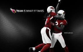 frightening two players with glory uniform white and red in metal black background az cardinals wallpaper