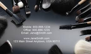 makeup artist business cards templates free makeup artist business card design 601071
