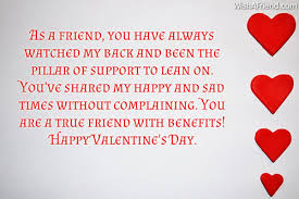 Valentine Quotes For Friends New Valentines Day Messages For Friends