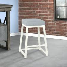 haley 30 bar height metal backless barstool in gray faux gray faux leather bar stools grey faux leather bar stools uk
