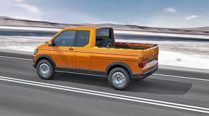VW Tristar Pickup Concept Raises the Work Truck Bar
