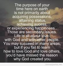 Purpose Of Life Quotes Simple Life Purpose Quote