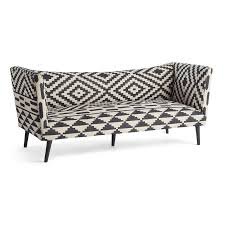 Patterned Settee