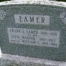 Effie May Warner Eamer (1892-1977) - Find A Grave Memorial