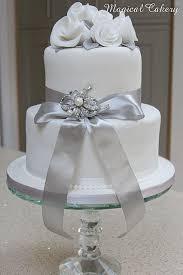 Silver Wedding Anniversary Cake Anniversary Wedding Anniversary