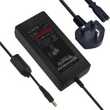 sony playstation 2 slim. replacement playstation 2 slim mains power supply ac adapter to 70000 series ps2 sony