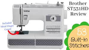 Brother St531hd Strong Tough Sewing Machine Reviews