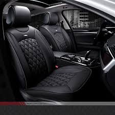 luxury pu leather car seat cover