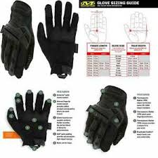 Mechanix M Pact Size Chart Details About Mechanix Wear M Pact Covert Tactical Gloves X Large Black Free Shipping
