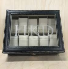 watch box watch case engraved watch display jewelry storage custom engraved watch box this is a great gift for any occasion