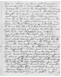 Letter from Orlando Gray to Juliana Smith Reynolds, January 9, 1862 -  PICRYL Public Domain Image