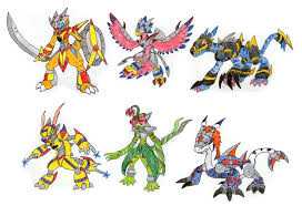 11 Unusual Digimon Frontier Evolution Chart