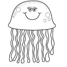 Small Picture Collection of Solutions Jellyfish Coloring Pages In Format Layout