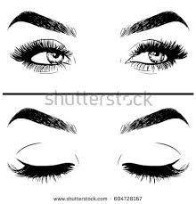pin drawn eye closed 7