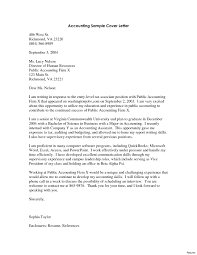 Accounting Resume Cover Letters Accounting Specialist Cover Letter Tweetspiecom Accounting Clerks