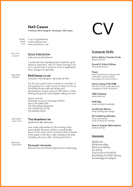 Resumes Computer Skills Resume Example Cv Ms Office Social Media For
