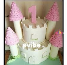 Order Princess Castle Theme Cake Online Birthday Cake In Bangalore