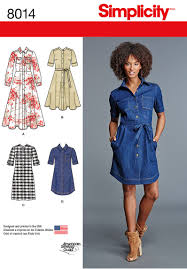 Shirt Dress Pattern