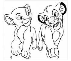 Small Picture Image detail for printable coloring page The Lion King 72