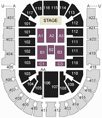 All blocks - The O2 Arena London seating plan