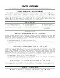 Image Gallery of Crazy Accounts Receivable Resume 13 Accounts Payable  Resume Accounting Objective