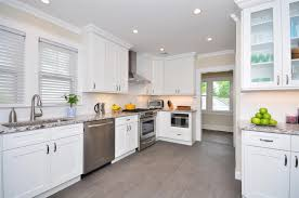 White Kitchens With White Granite Countertops Kitchen All Collection About White Cabinets In Kitchen Modern