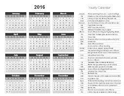 2016 Printable Calendar For Anime Club Officers Anime