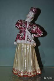 """Фарфоровая <b>статуэтка</b> танцующая девушка """"Лебедушка в ..."""