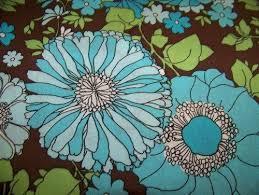 Good Buy Cotton Quilt Fabric Spring Fling Large Floral Brown Teal ... & Good Buy Cotton Quilt Fabric Spring Fling Large Floral Brown Teal Blue -  product images of Adamdwight.com