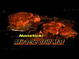 Miracle Grill Mat mercial Miracle Grill Mat As Seen TV Grill