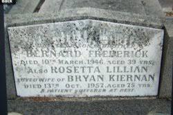 "Bernard Frederick ""Bernie"" Kiernan (1906-1946) - Find A Grave Memorial"
