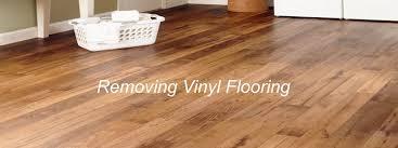 removing old linoleum or vinyl floors
