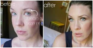 makeup lesson droopy or hooded eye