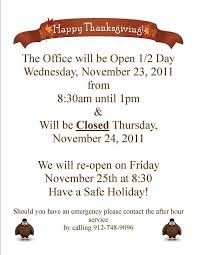 Closing Early Sign Template Holiday Closing Early Sign