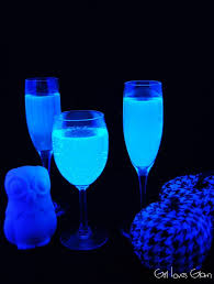 Easy Drink Light Food Holiday Bored Cheap Black Fast Halloween Gin-tonic Party Glowing Cocktail - –