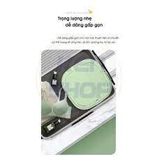 FreeShip - Bảo hành] Máy giặt mini Yangzi chính hãng gấp gọn thông minh,  giặt 3-4kg đồ, vắt khô và khử trùng UV Ag chính hãng 1,890,000đ