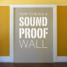 picture of build a soundproof wall