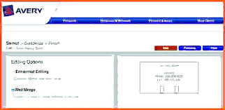 8167 Label Template Avery 5167 For Word Return Address