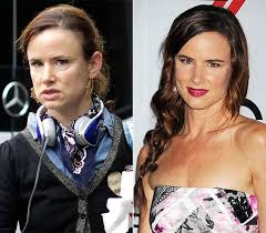if you have been watching secrets and lies on abc juliette lewis does look a little rough but that is how the character is meant to look