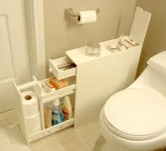 clever cabinet for a small bathroom